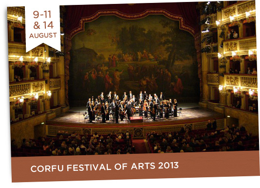 9-11/8 & 14/8 Corfu Festival of Arts 2013 + 11/8 The Varkarola