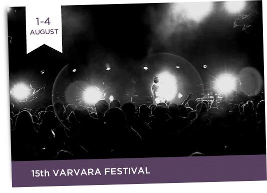 1-4/8  15th Varvara Festival