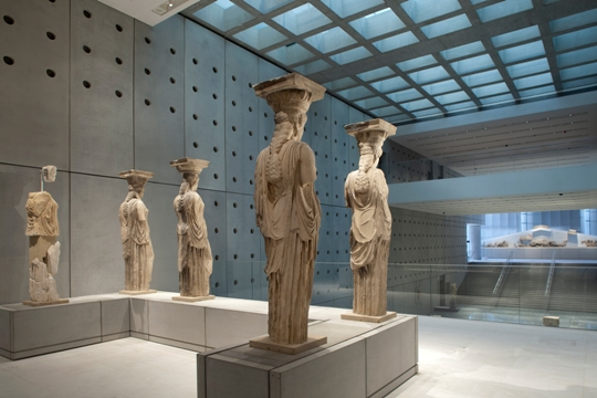 The New Acropolis Museum  Cycladia Blog
