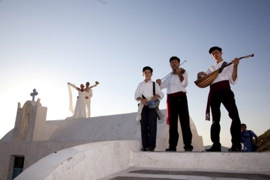 Santorini Wedding Events