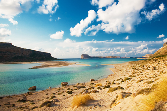 Beaches in Crete island