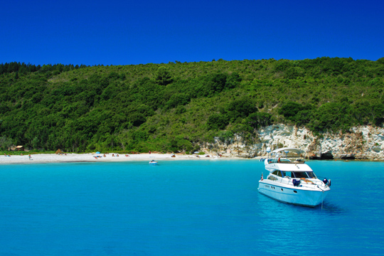 Beaches in Antipaxoi island