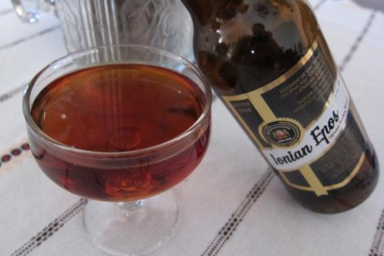 Drinking beer in Greece