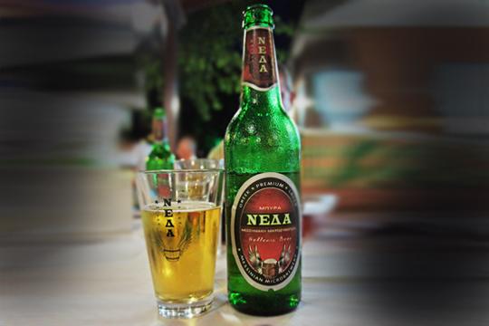 Authentic greek bier