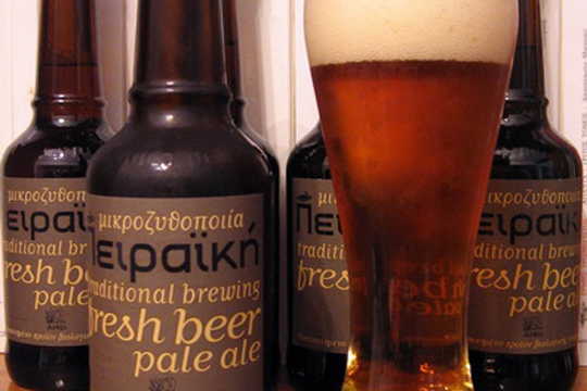 Famous beers from Greece