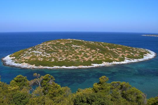 Uninhabited islands in Greece