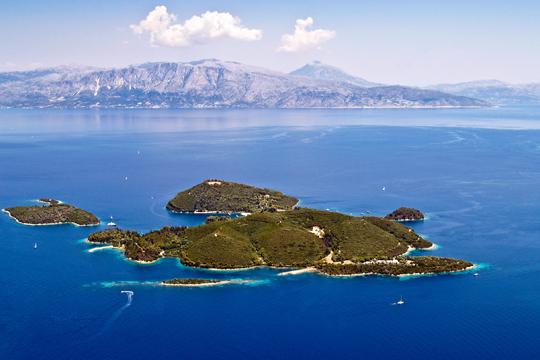 Skorpios island in Greece