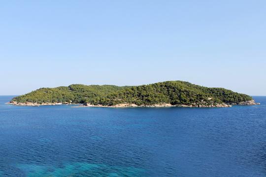 Small islands in Greece