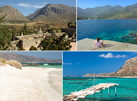 The best beaches in Chania