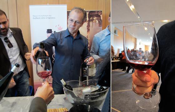 Winetasting in Greece