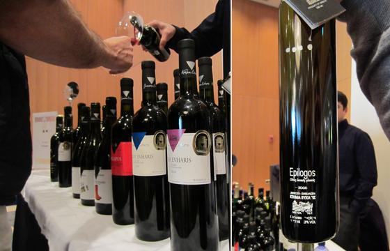 Winetasting in Hilton Greece