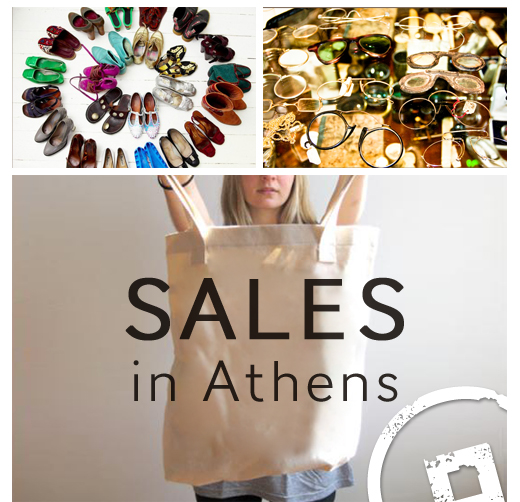 Sales in Athens