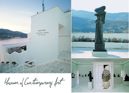 Contemporary Art in Andros
