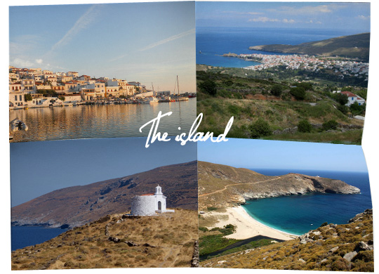 The best places in Andros