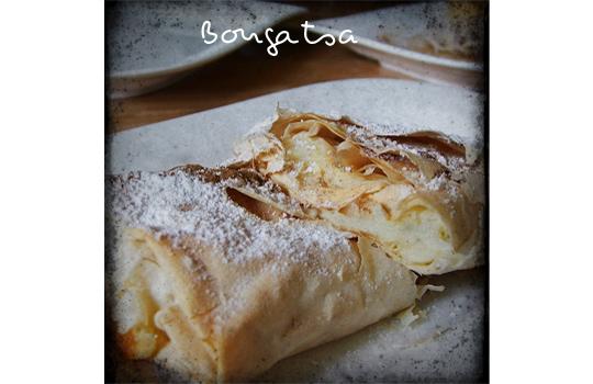 Bougatsa greek pie