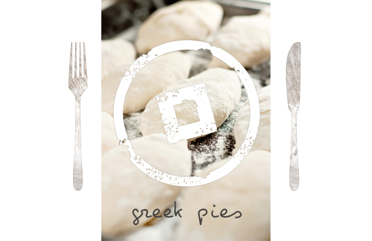 Authentic Greek Pies