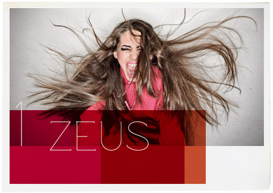 Zeus olympian god