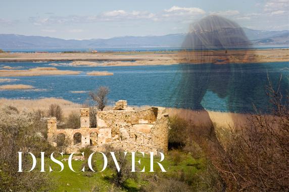 Agios Achillios island Prespes