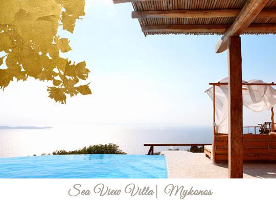Sea View villas in Mykonos