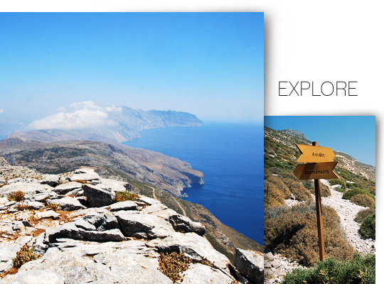 Explore Amorgos island