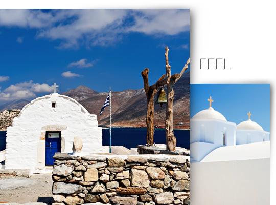 Amorgos island Cyclades Greece