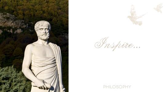 Greece is philosophy