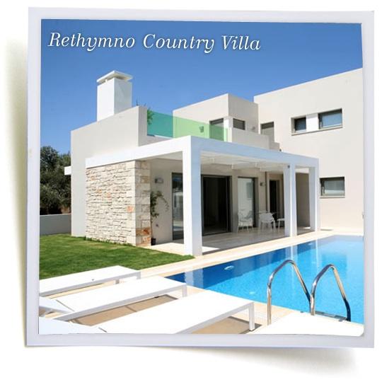Villas in Rethymno Crete Greece