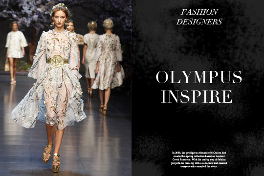 Ancient Greek Pantheon Climbs Down Olympus To Inspire Fashion Cycladia Blog