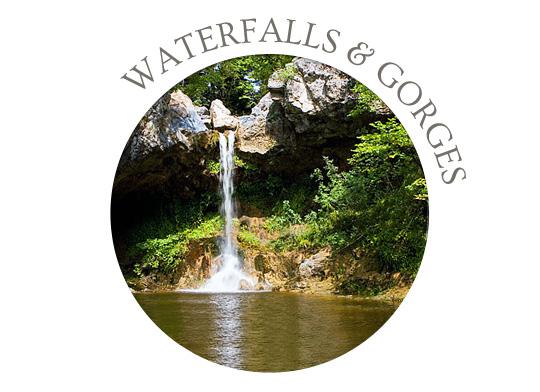 evia waterfalls greece