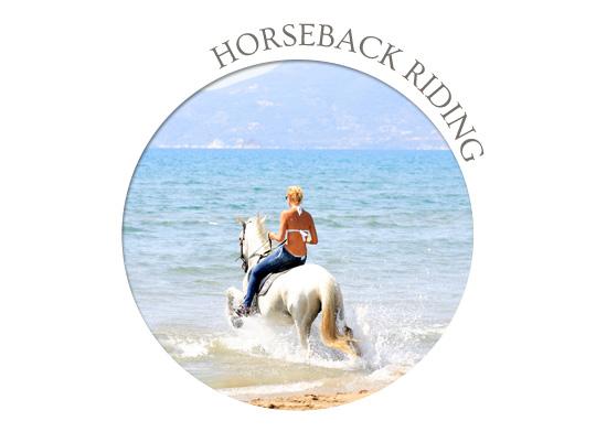 evia horseback riding