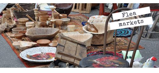 Greek Flea Markets