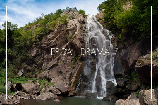 Waterfalls in Lepida