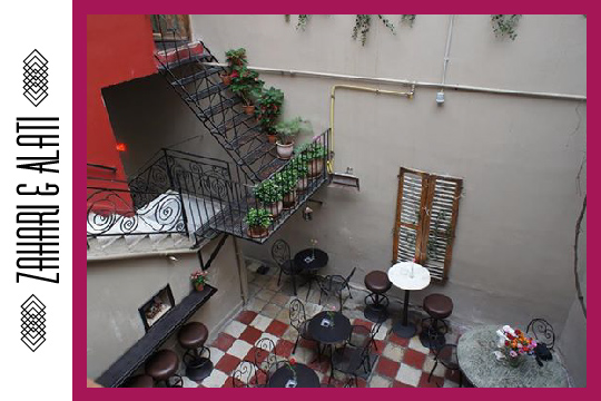 Cycladia Courtyard Picks in Athens