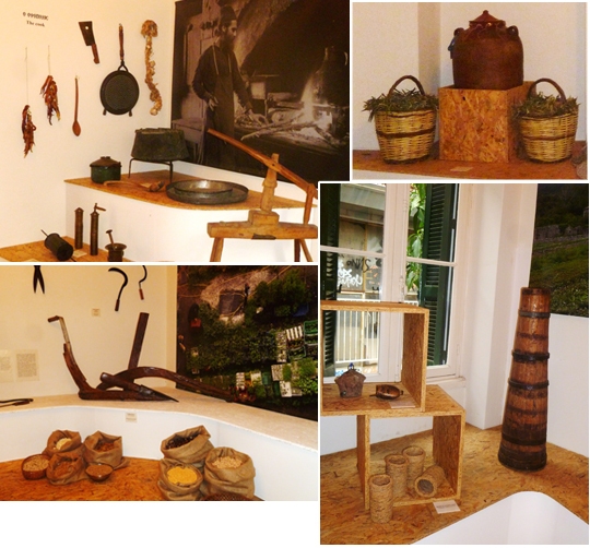 exhibitions of Museum of Greek Gastronomy