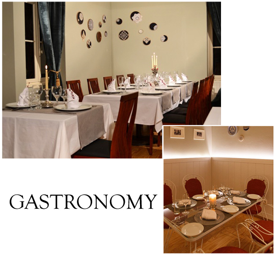 The restaurant of the Museum of Greek Gastronomy
