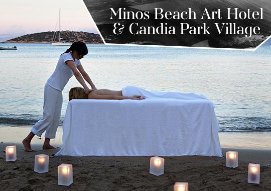 minos beach spa  crete