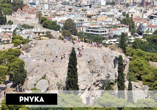 pnyka hill athens