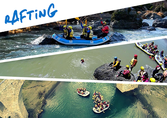 rafting in Greece
