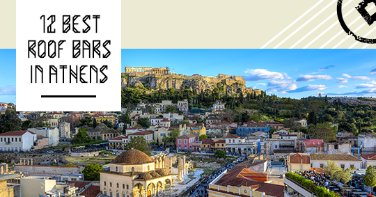 best roof bars athens