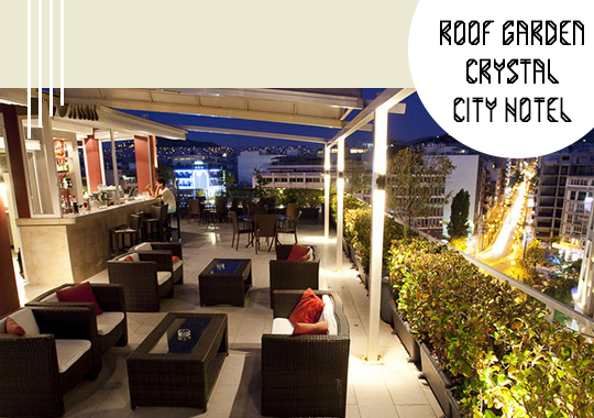 Roof Garden Crystal City Hotel