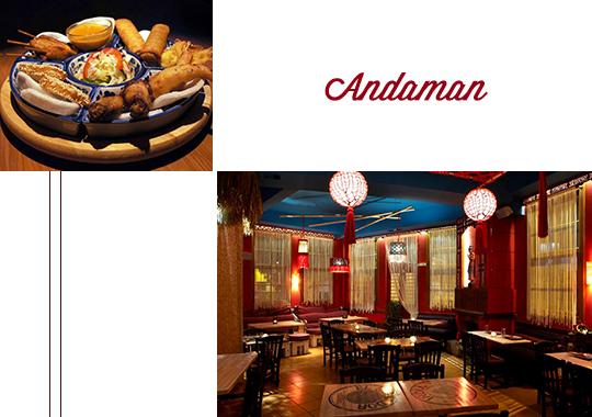 Andaman restaurant athens