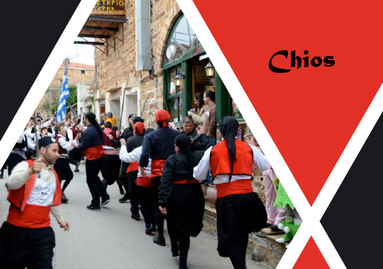 carnival in Chios