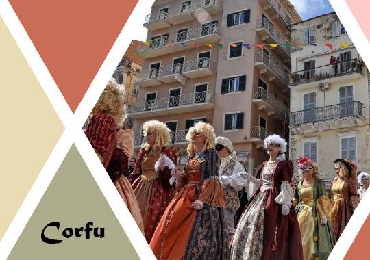 carnival in Corfu