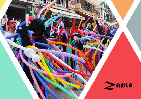 carnival in Zante