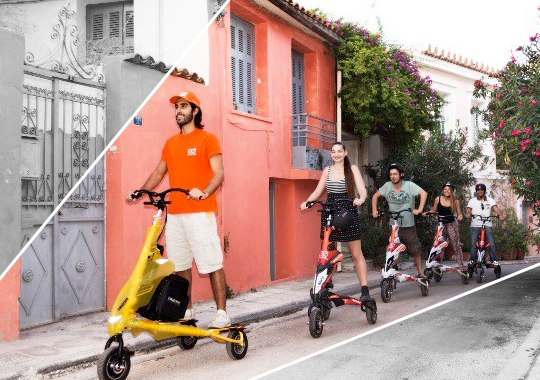 scooter athens