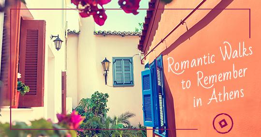romantic walk athens