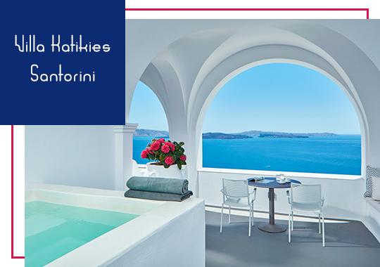 Villa Katikies in Santorini