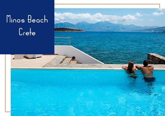 Minos Beach in Crete