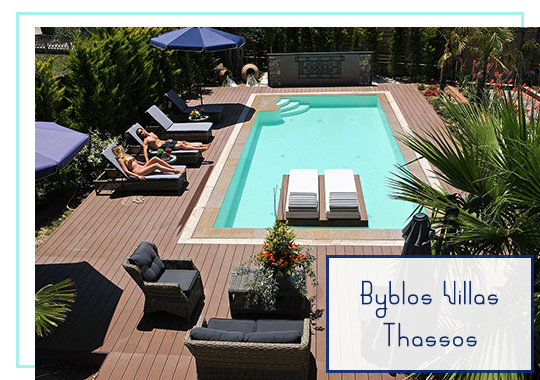 Byblos Villas in Thassos
