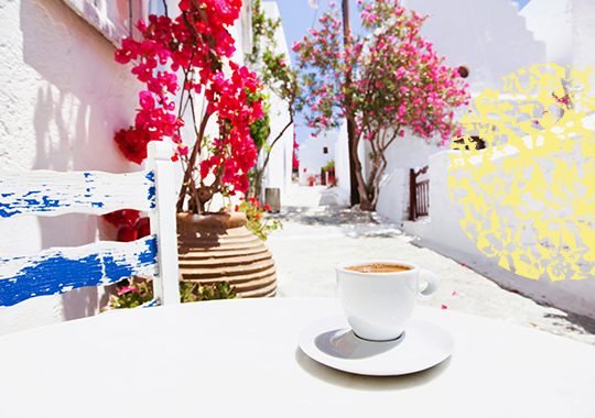 coffee at athens